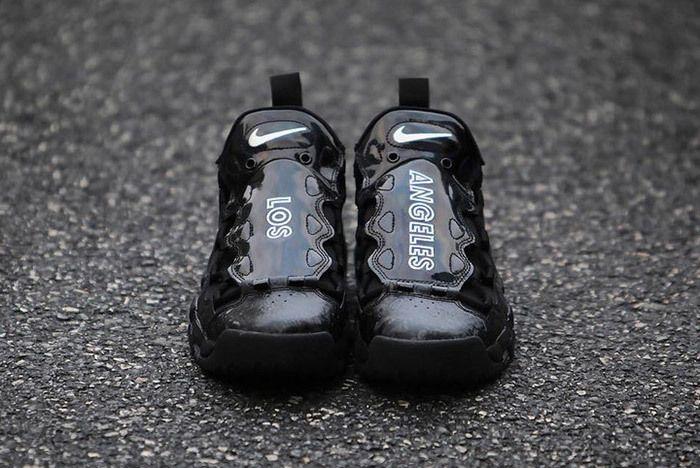 Nike Air More Money Los Angeles Pack Black White Sneaker Freaker 2