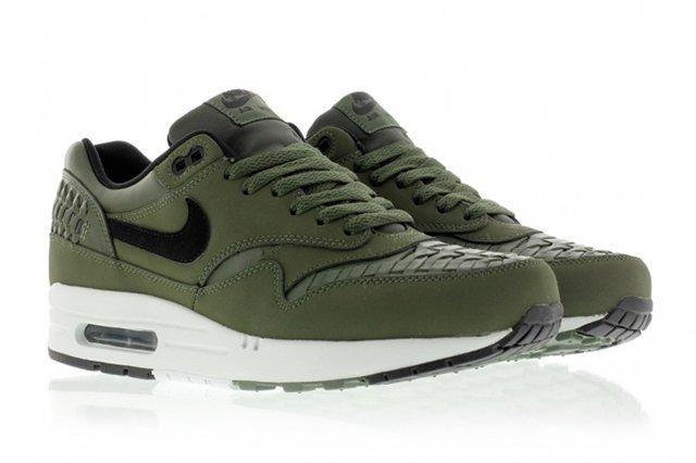 Nike Air Max 1 Woven Carbon Green 2