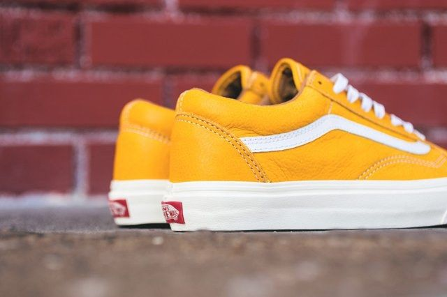 Vans Old Skool Classic Leather Pack 3