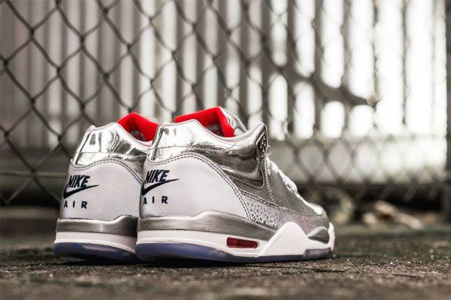 Nike Air Flight Squad Metallic Silver 5