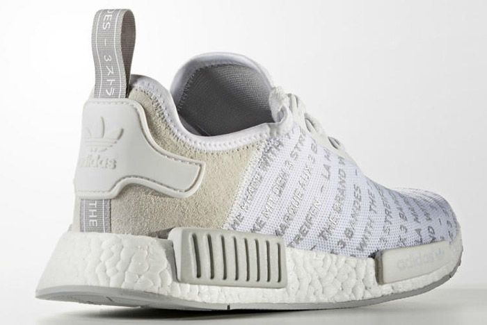 Adidas Nmd Brand With The 3 Stripes White 2