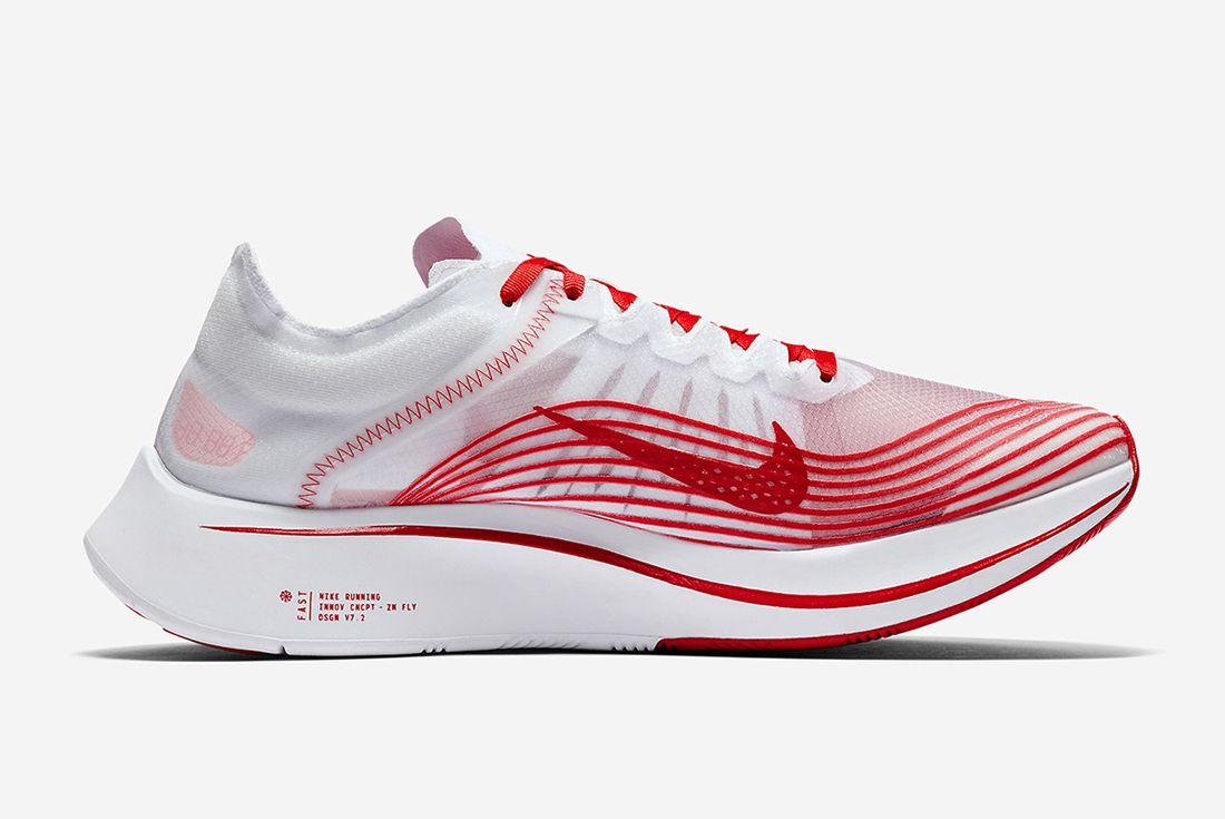 Nike Zoom Fly Whitered 4