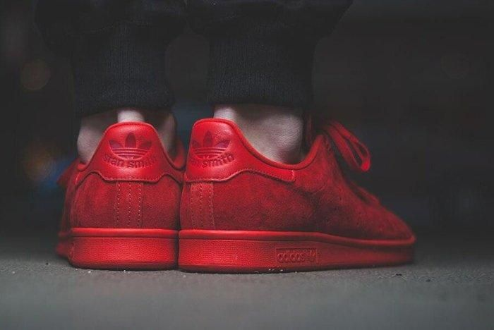 Adidas Stan Smith Power Red 1