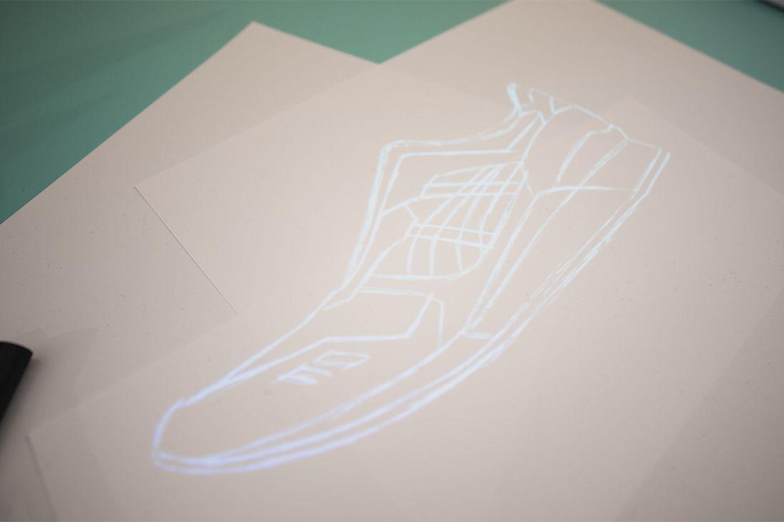 Asics Gel Lyte Iii Shigeyuki Mitsui Design Studio Recreation 17 Sketch
