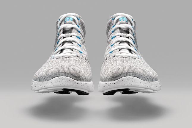 Nike Htm Flyknit Chukka Grey Front 1