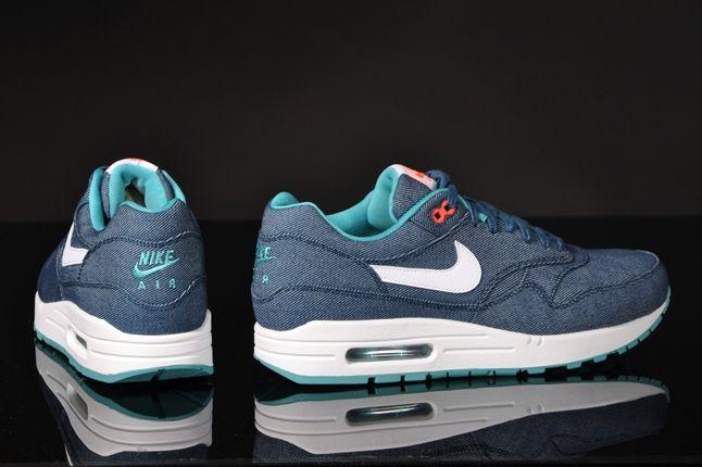 Nike Air Max 1 Prm Turquoise Denim Hero 1
