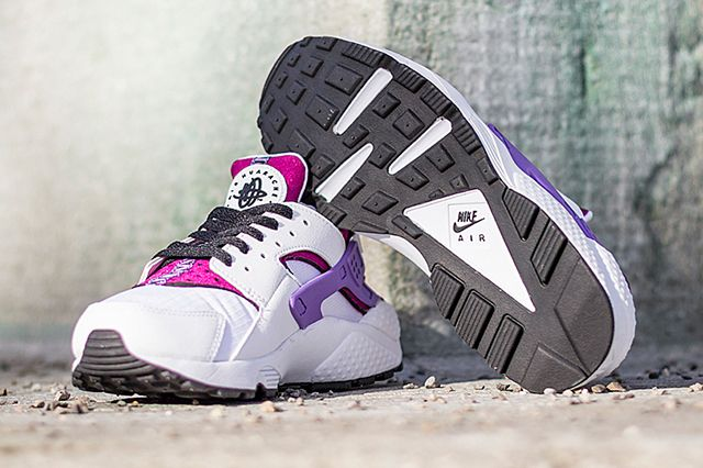 Nike Air Huarache Bright Magenta Purple 4