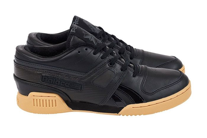 Palace Pro Workout Low Black Lateral Side