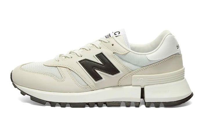 Comme Des Garcon New Balance Rc1300 White Left
