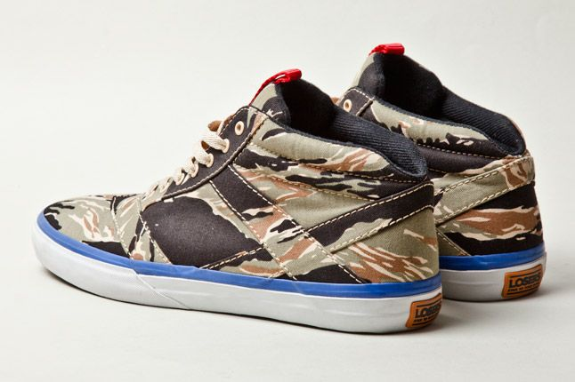 Losers Woodland Camo Blk Olive Blue 4 1