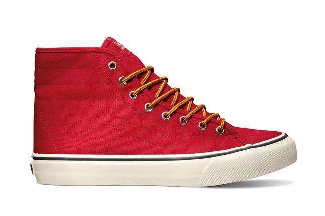 Vans Sk8 Hi Binding Red Profile 1