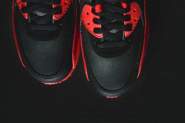 Nike Air Max 90 Gym Redblack6