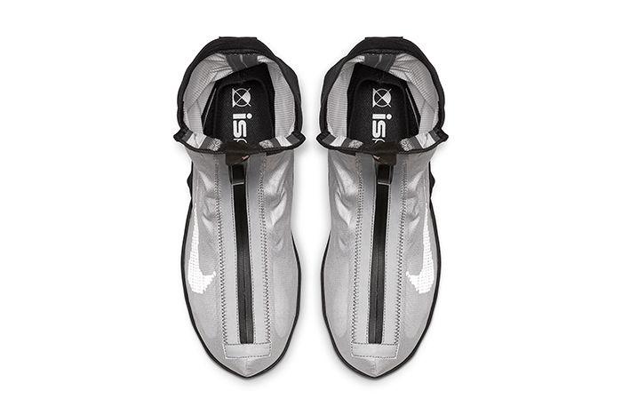 Nike Vapormax Gator Ispa Silver Ar8557 001 Release Date Top Down