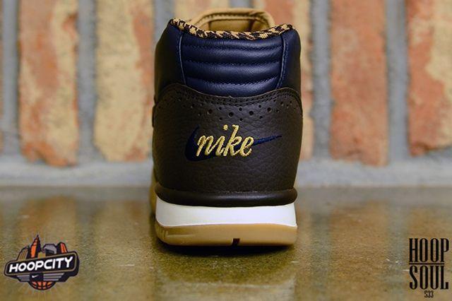 Nike Air Trainer Velvet Brown Heel