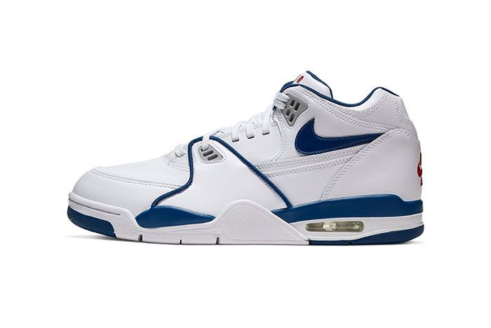 Nike Air Flight 89 True Blue Cn5668 101 Lateral Left