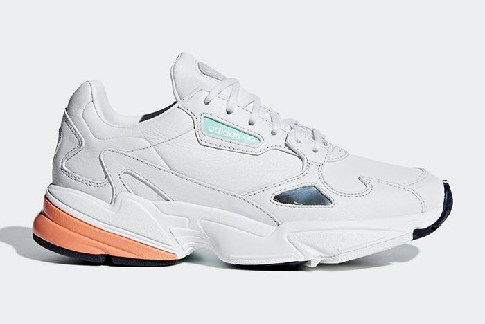 Adidas Falcon White Leather 1