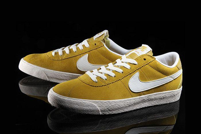 Nike Sb Bruin Premium Peat Moss Yellow 6