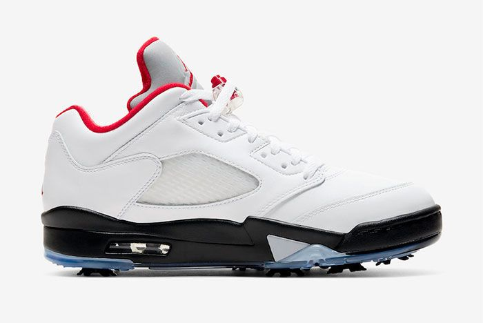 Air Jordan 5 Low Golf Fire Red Cu4523 100 Release Date Price 2 Official