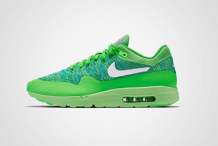 Nike Air Max 1 Ultra Flyknit Green Thumb