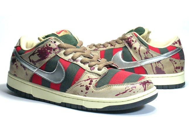 Nike Dunk Sample Freddy Krueger Pair 1 1