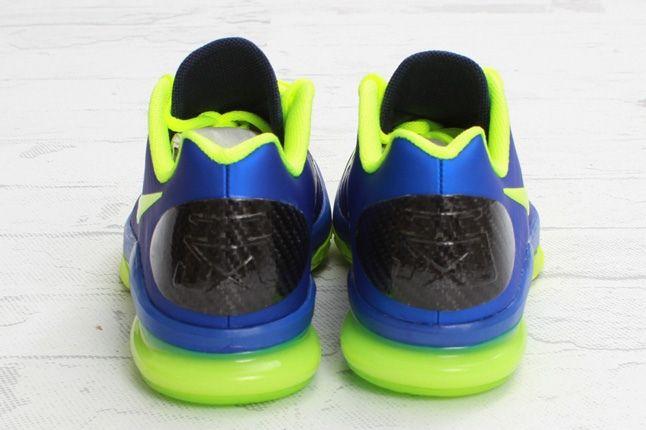 Nike Kdv Elite Hypber Blue Volt Heel 1