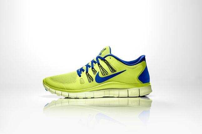 Nike Free 5 0 Volt Blue Profile 1