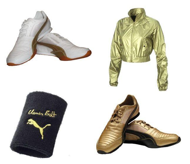 PUMA X Usain Bolt Gold - Sneaker Freaker