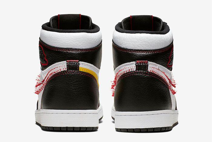 Air Jordan 1 Defiant Tour Yellow Heel
