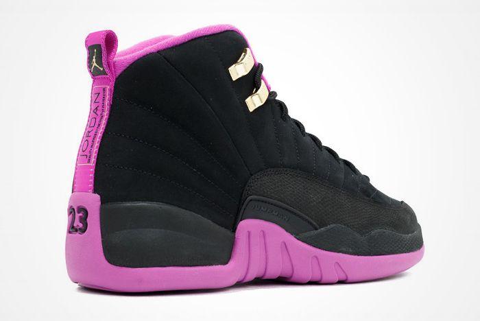 Air Jordan 12 Gs Hyper Violet 3
