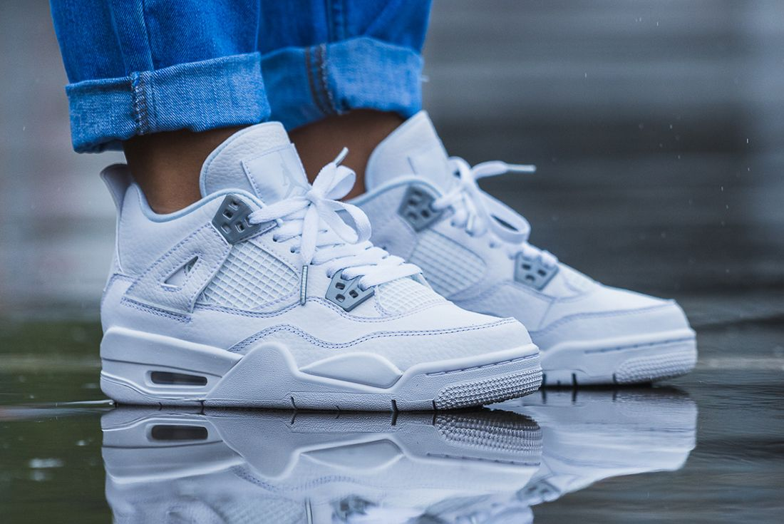 Up Close With The Air Jordan 4 Pure Money3