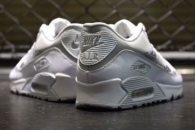 White Air Max 90 Heel 1