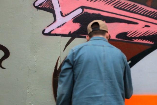 Vizie Tribute For Nekst Msk 2013 Graffiti 1