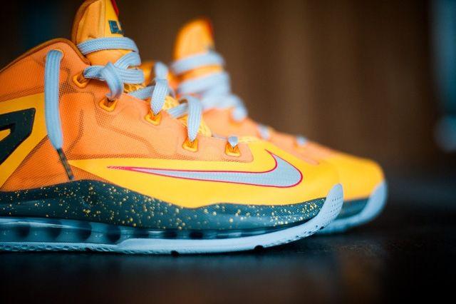 Nike Lebron 11 Low Atomic Mango Bump 6