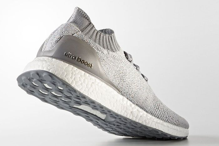 Adidas Ultra Boost Uncaged Light Grey With Color 3