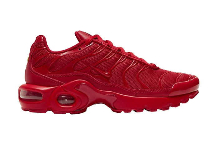 Nike Air Max Plus Triple Red Cq9748 600 Release Date Lateral Fixed