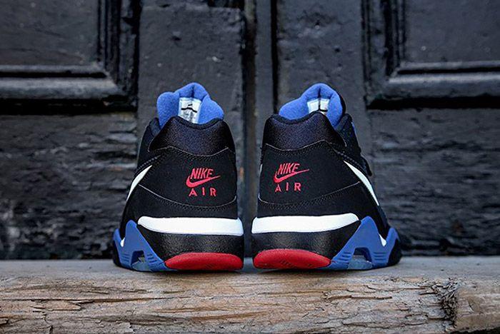 Nike Air Force 180 Black Sport Royal 3