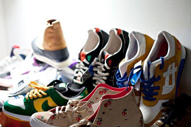 Converse Asics Nike 1