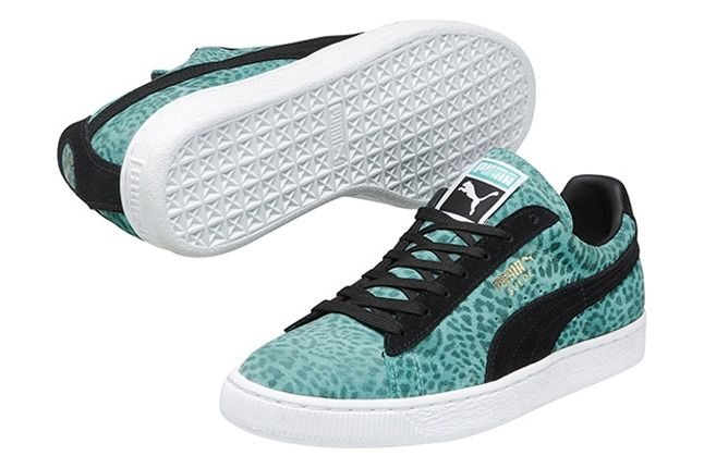Puma Suede Animalier Collection Fall Winter 2013 Mint 1
