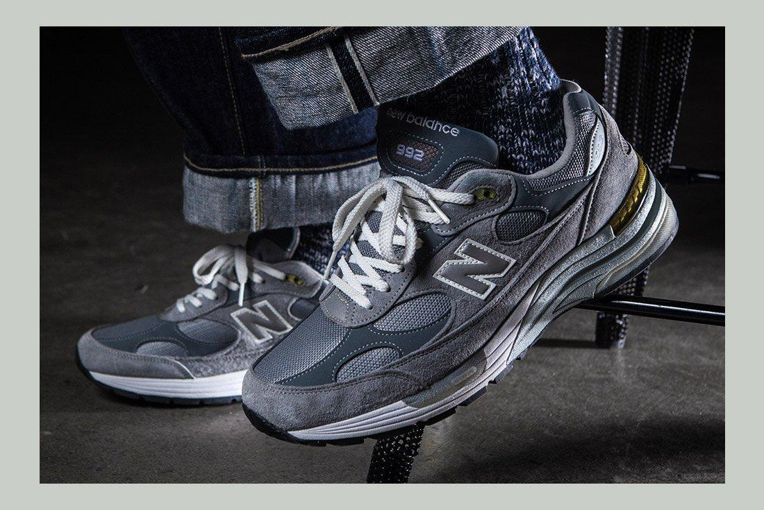 History Of New Balance 992 On Foot 1