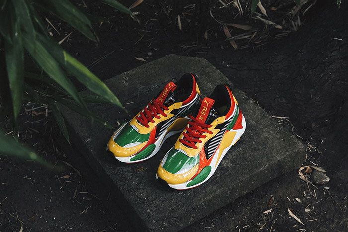 Atmos Puma Rs X Yellow Red Green Top Shot