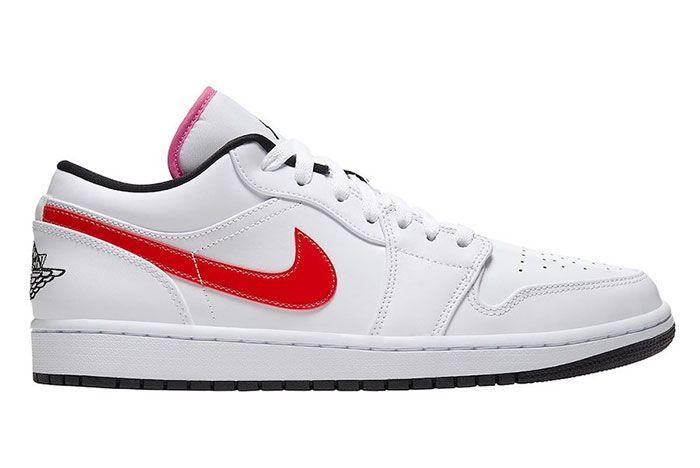 Air Jordan 1 Low White Multi Color Cw7009 100 Release Date 1