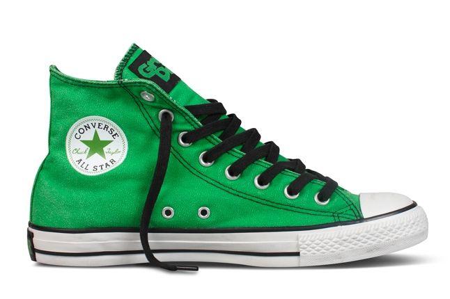 Converse Chuck Taylor All Star Green Day Green Kerplunk 1