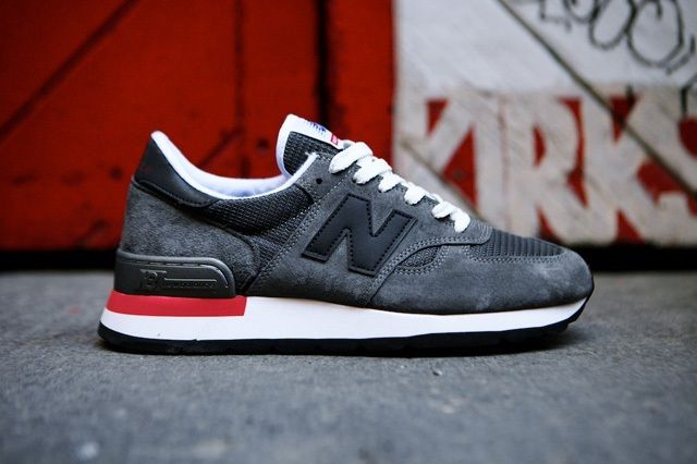 New Balance 990 Made In Usa Charcoal Grey 3