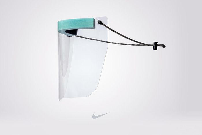 Nike News Ppe Face Shield Main