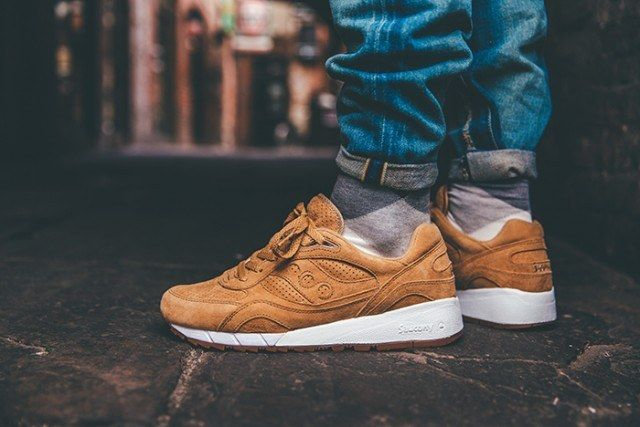 Saucony Irish Coffee Pack On Foot 10 640X4271