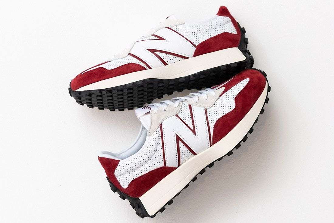 New Balance 327 Primary Pack Red