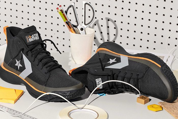 Converse Star Series Tinker Hatfield Bb Basketball Black Release Date Pair