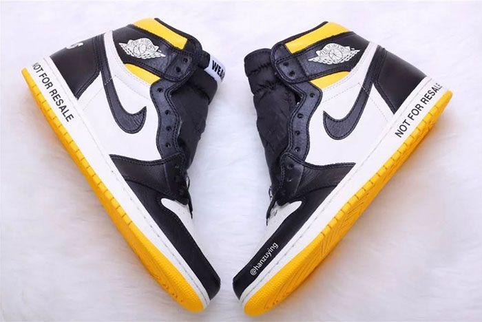 Air Jordan 1 Nrg No Ls Varsity Maize 861428 107 Release Date 1 Sneaker Freaker