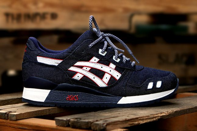 Ronnie Fieg Asics Gel Lyte Iii Selvedge Denim Side Profile 1