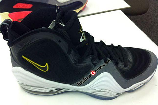 Nike Penny V 5 Black Grey 11